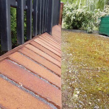 Czyszczenie ogrodzenia